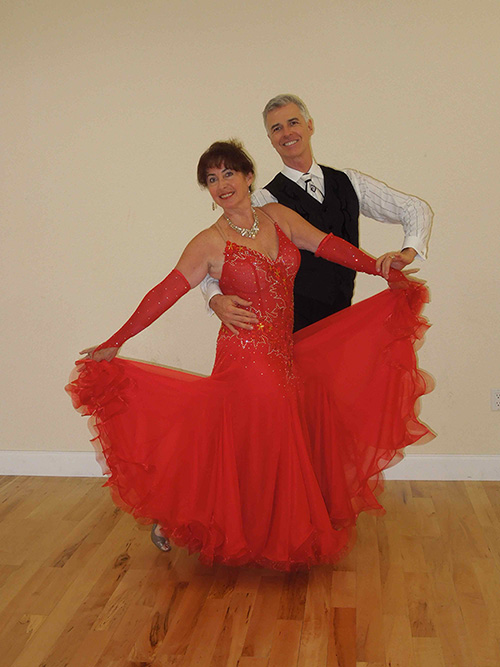 Florida Dance Vacations - Red Dress