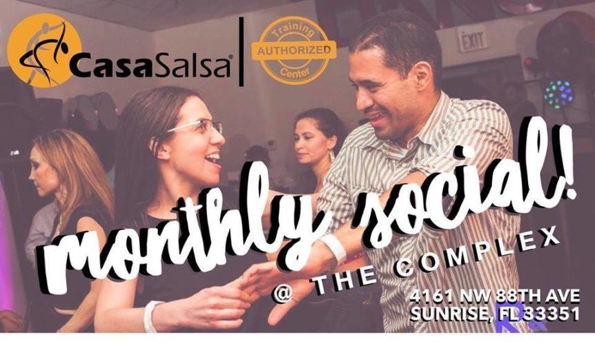 Second Friday Monthly Social - Casa Salsa - Sunrise